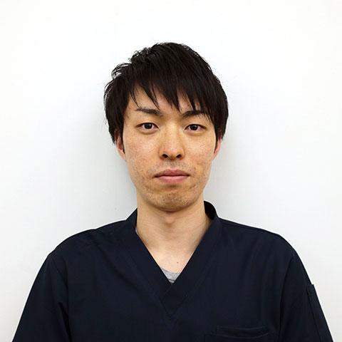 理学療法士、日吉郁弥の写真