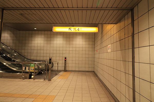 元町・中華街駅改札